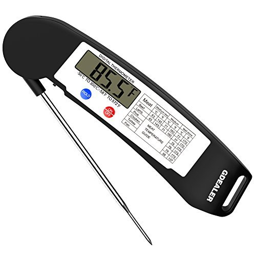 GDEALER Instant Read Thermometer - Kitchen Thermometers