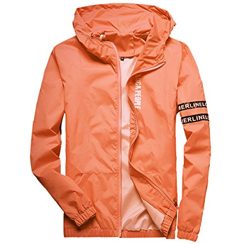 Homaok Men's Lightweight Breathable Jacket - Windbreaker jackets