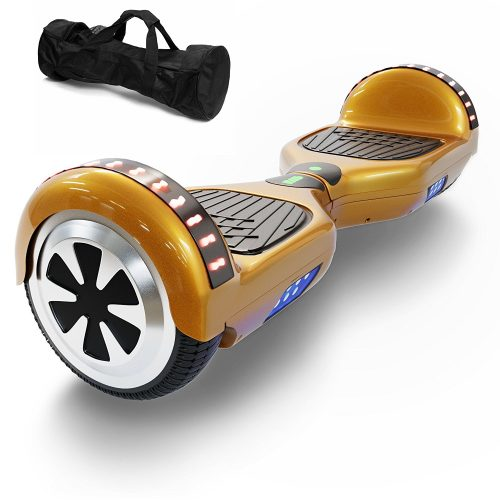 "Hoverboard Two-Wheel Self Balancing Electric Scooter 6.5"" UL 2272 Certified, Print Coating with Bluetooth Speaker and LED Light - Cheap Hoverboards"