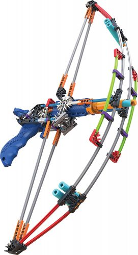 K'NEX K-FORCE Battle Bow Build and Blast Set – 165 Pieces – Ages 8+ Eng - Compound Bows For Kids