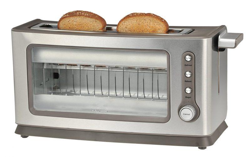 Kalorik Glass Toaster - See-through Toasters