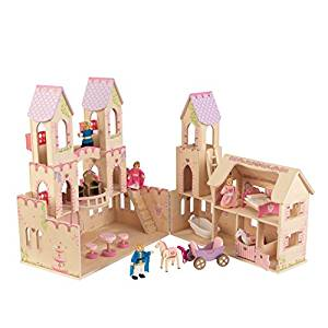 KidKraft Princess Castle Dollhouse with Furniture - Doll House Toys
