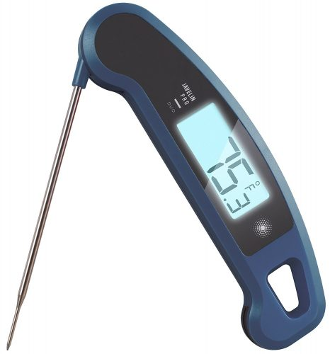 Lavatools Javelin PRO Duo Ambidextrous Backlit Instant Read Digital Meat Thermometer - Kitchen Thermometers