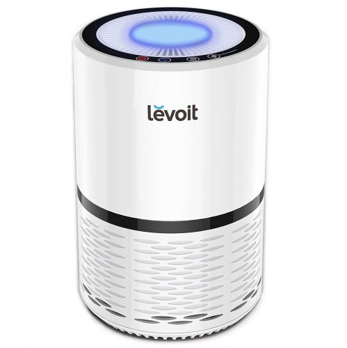 Levoit Air Purifier Filtration with True HEPA Filter, Odor Allergies Allergen Eliminator Cleaner for Room, Home, Pets, Smoke, Smokers, Cooking, Night Light, Compact - Air Purifier