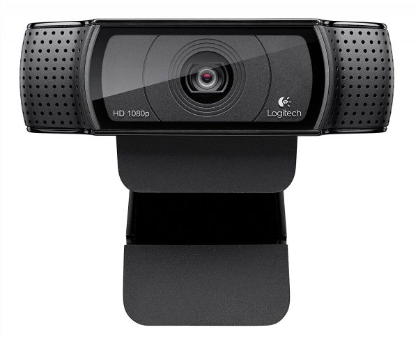 Logitech HD Pro Webcam C920, Widescreen Video Calling and Recording, 1080p Camera, Desktop or Laptop Webcam. - Wireless Webcam
