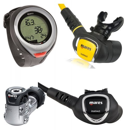 Mares Scuba Regulator Octo Dive Gear Package - Scuba Gear Packages