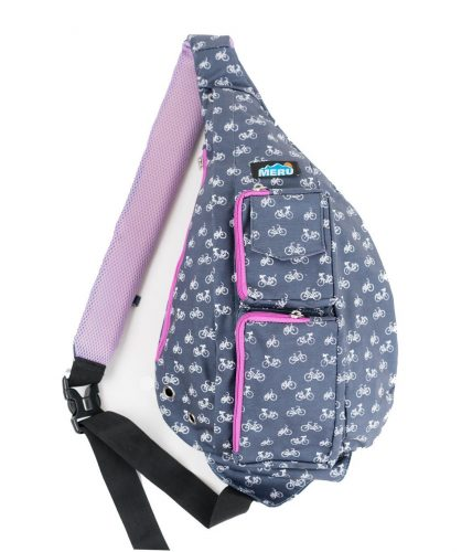 Meru Sling Backpack Bag - Small Single Strap Crossbody Pack for Women and Men - Sling Bag For Women