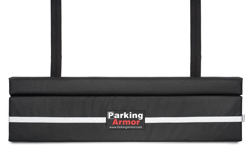 "Parking Armor 4.8 - (48"" Wide x 12"" Tall) Indoor/ Outdoor Ultimate Rear Bumper Protector - Bumper Guards"