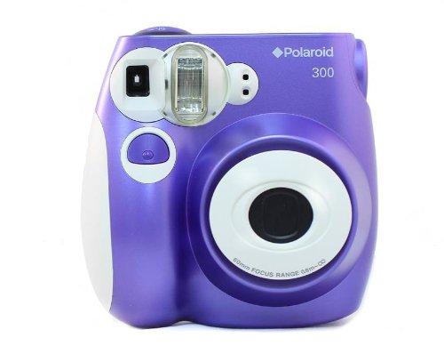 Polaroid PIC-300 Instant Film Camera (Purple) - instant film cameras