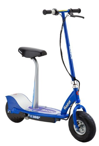 Razor E300S Seated Electric Scooter - Electric Scooters with Seat