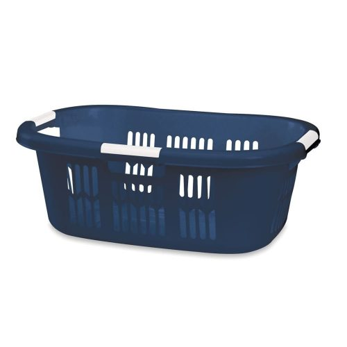 Rubbermaid Home Standard FG299700ROYBL Laundry Basket Dark Blue Color - Plastic Laundry Baskets