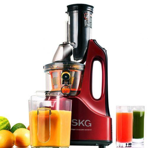 SKG Wide Chute Masticating Juicer