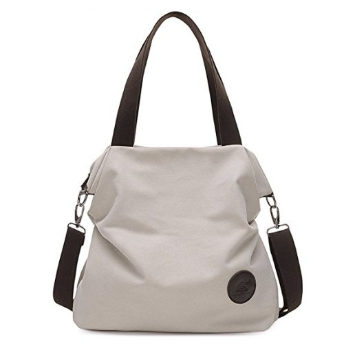 Sanxiner Women's Canvas Tote Bag - Messenger Bags for Women