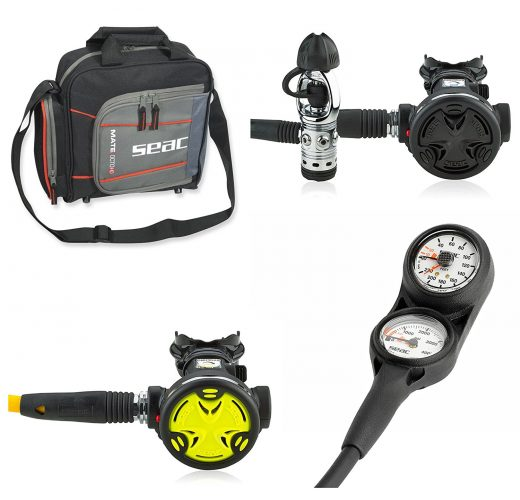 Search New Scuba Diver Premium Scuba Regulator Package Dive Gear - Scuba Gear Packages