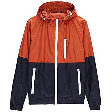 Stunner Men's Spring Casual Light Jacket with Hood - Windbreaker jackets