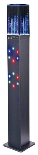 Sylvania SP349 Light & Water Display Bluetooth Tower Speaker - Water Speakers