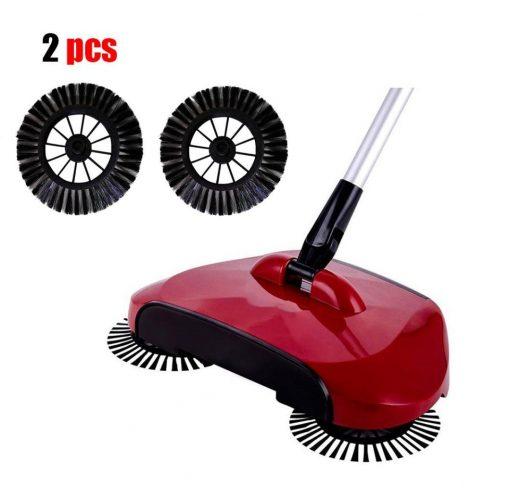 Vanvler Home Cleaning Tools Magic Manual Telescopic Floor Dust Sweeper - dust mop