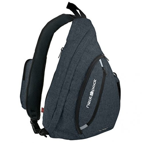 Versatile Canvas Sling Bag / Travel Backpack | Wear Over Shoulder or Crossbody - Sling Bags for Men