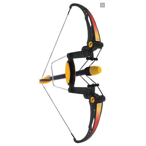 Brybelly Foam Strike Compound Bow X2 - Shoots Over 100 Feet - Compound Bows For Kids