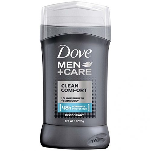 Dove Men + Care Deodorant Stick, Clean Comfort 3.0 oz, Pack of 2. - deodorants for men