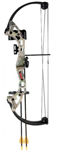Bear Archery Brave Bow Set - Compound Bows For Kids