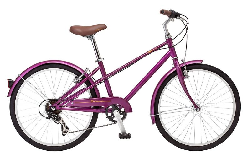 "Schwinn Mifflin 24"" Wheel Hybrid Bicycle, Magenta, One Size. - Hybrid Bikes Under 400"
