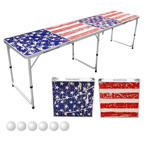 Sports Festival 8-Foot Portable Beer Table - Beer Pong Tables