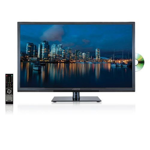 AXESS LED HDTV with DVD Player