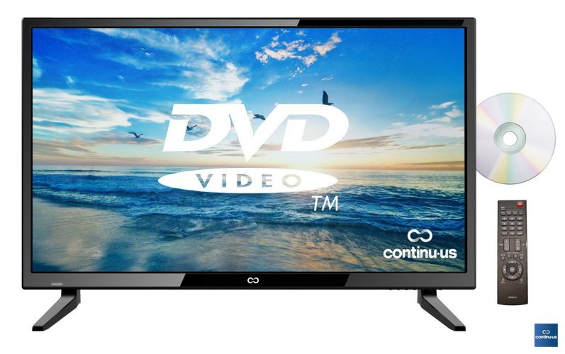 Continuus LED HDTV with DVD Player