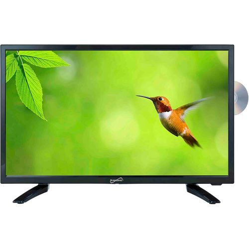 Supersonic LED Widescreen HDTV with DVD Player