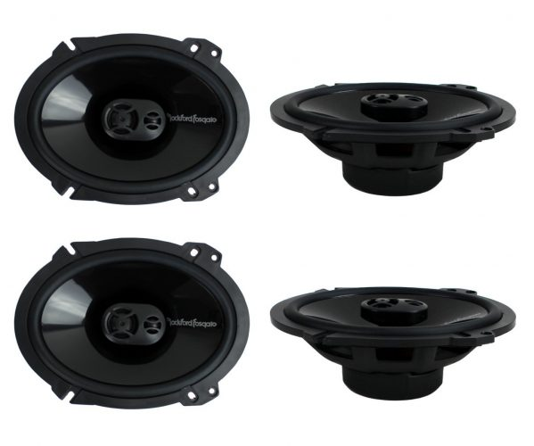 4) New Rockford Fosgate Coaxial Speakers