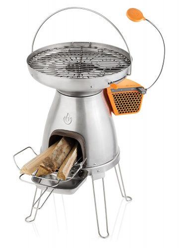 BioLite BaseCamp Wood Burning Camp Stove