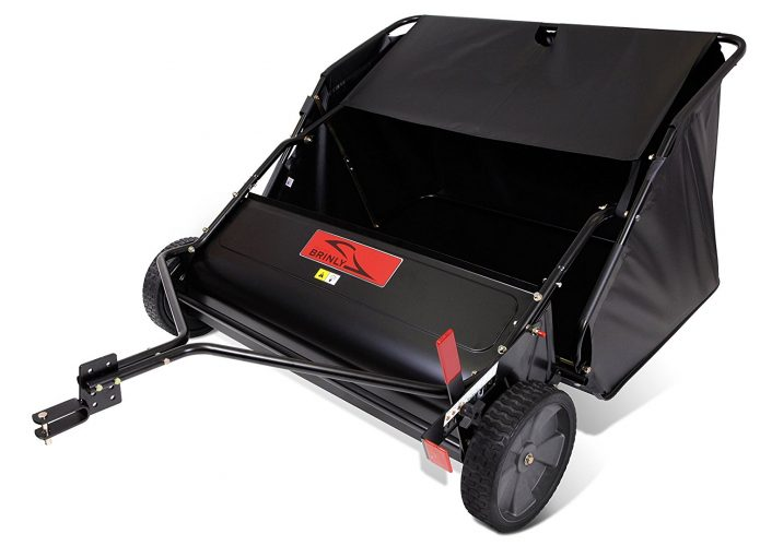 Brinly STS-427LXH 20 Cubic Feet Tow-Behind Lawn Sweeper, 42-Inch