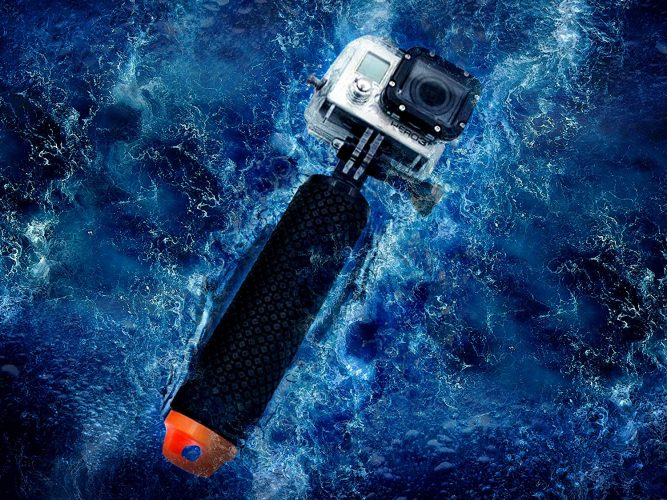 Waterproof Floating Hand Grip Compatible