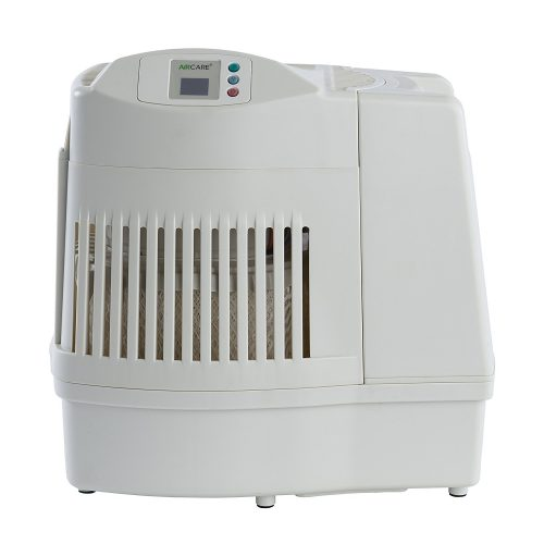 AIRCARE MA0800 Digital Whole-House Console-Style Evaporative Humidifier, White - Whole House Humidifier