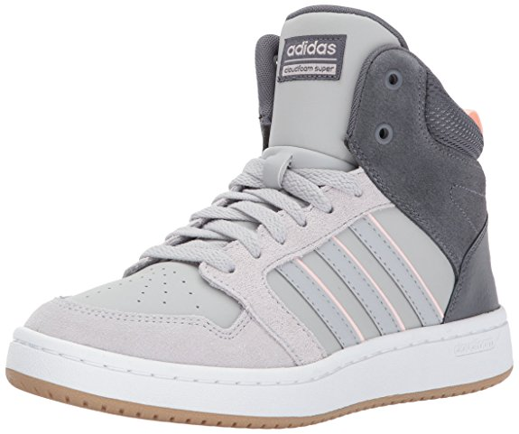 Adidas Neo Women's CF Superhoops Mid W Basketball-Shoes - Basketball Shoes for Women