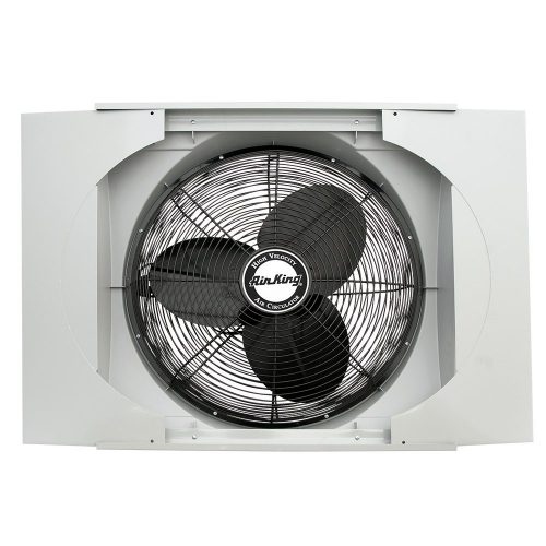 """AirKing 9166 20"""" Whole House Window Fan - Whole House Fan"""