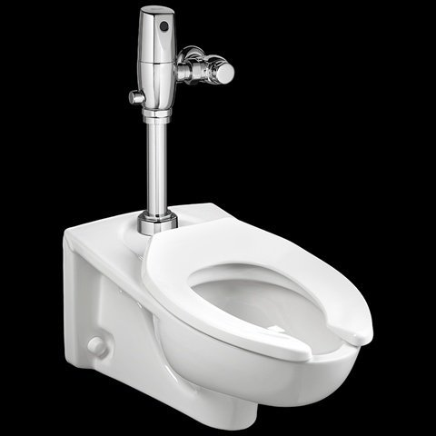American Standard 2257.101.020 Afwall Elongated Bowl Wall-Mounted Toilet - Wall Mounted Toilet
