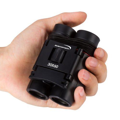 Aurosports 30x60 Folding Binoculars Telescope - Compact Binoculars