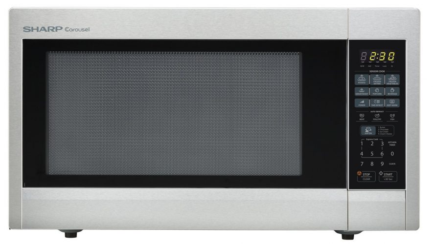 Sharp Stainless-steel Microwave Oven