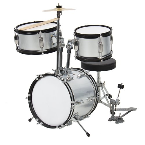 Best Choice Kids Drum Set, Beginners Complete Set with Throne, Cymbal