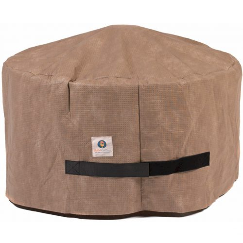 Duck Covers Elite Round Fire Pit Cover, 36-Inch - fire pit covers