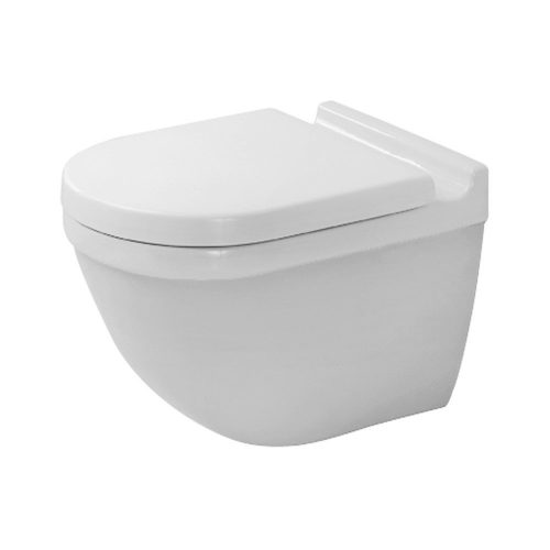 Duravit 2225090092 Toilet Bowl Wall Mounted Starck 3 - Wall Mounted Toilet