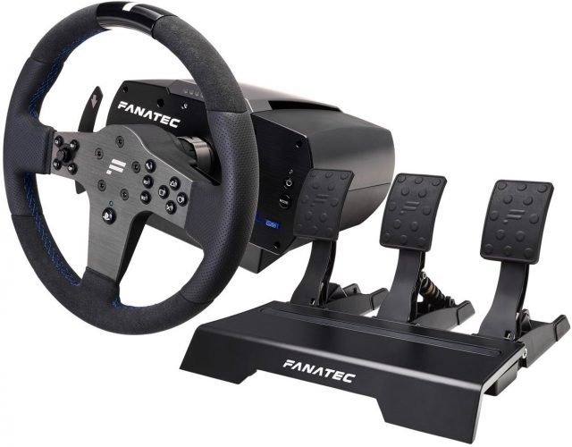 Fanatec CSL Elite Pro Kit for PS4 - racing steering wheel