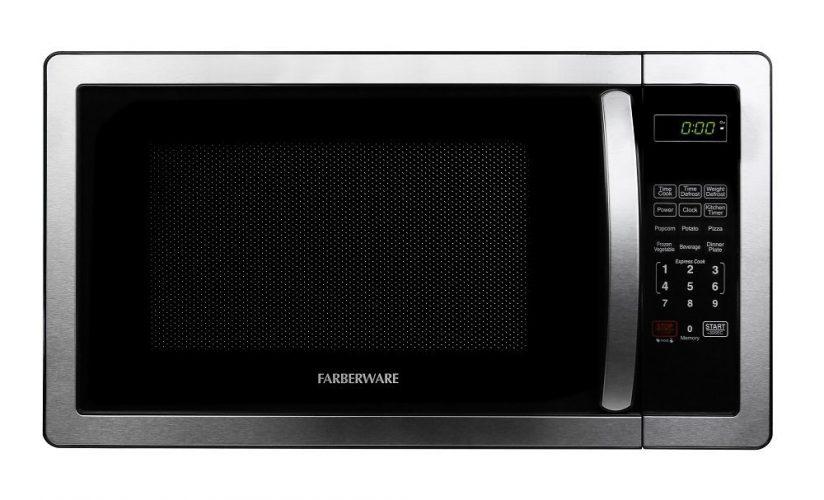Farberware Classic 1000-Watt Microwave Oven - Stainless Steel Microwave Oven