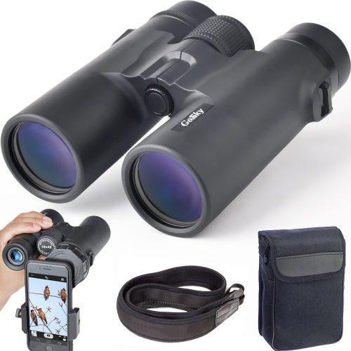 Gosky 10x42 Binoculars for Adults - Compact Binoculars