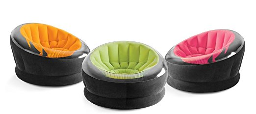 "Intex Inflatable Empire Chair, 44"" X 43"" X 27"", Color May Vary, 1 Chair - Inflatable Couch"