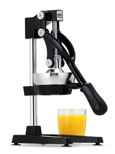 Jupiter Large Commercial Juice Press, Black - Manual Juicer