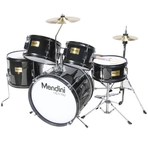 Mendini by Cecilio 16 inch 5-Piece Drum Set - kids drum set