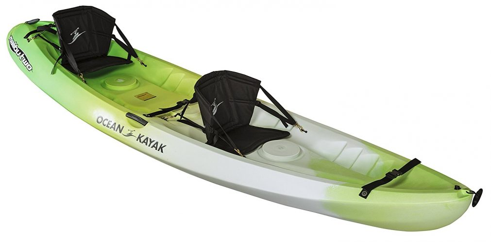 Ocean Kayak 12-Feet Malibu Two Tandem Sit-On-Top Recreational Kayak - Tandem Kayak